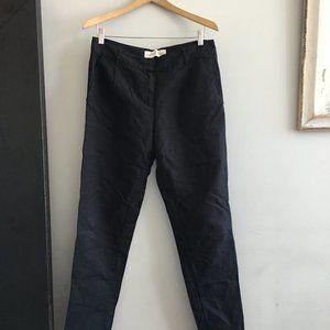 Graham & Spencer linen pants, blk